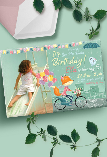 Birthday Party v04 – Invitation PSD Template