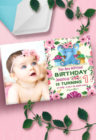 Birthday Party v08 – Invitation PSD Template