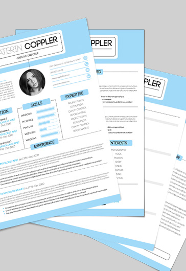 Simple Resume Template – CV and Cover Letter