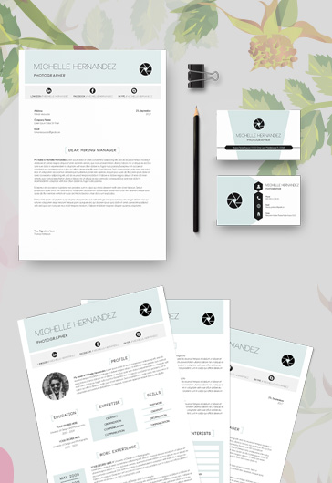 Unique Resume Templates + CV and Cover Letter