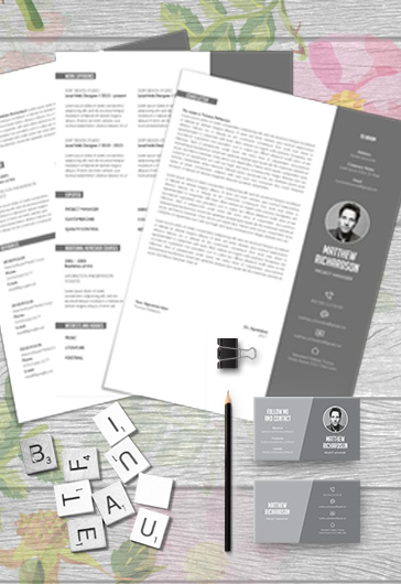 Creative Resume Template + CV and Cover Letter