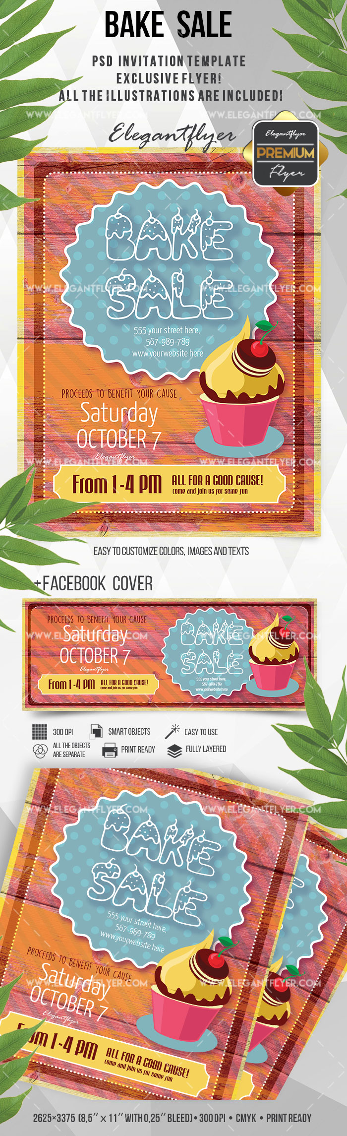 ​​Bake Sale Flyer Template