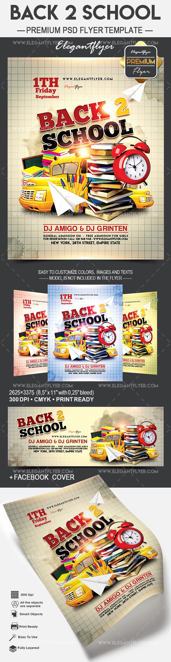 Flyer for Back to School