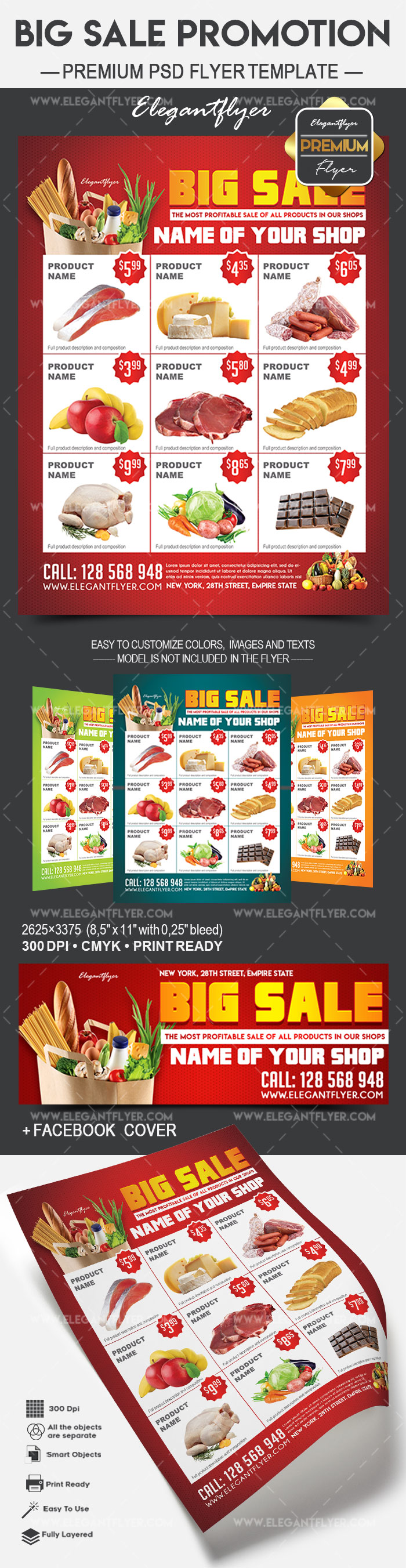 Big Sale Promotion – Flyer PSD Template