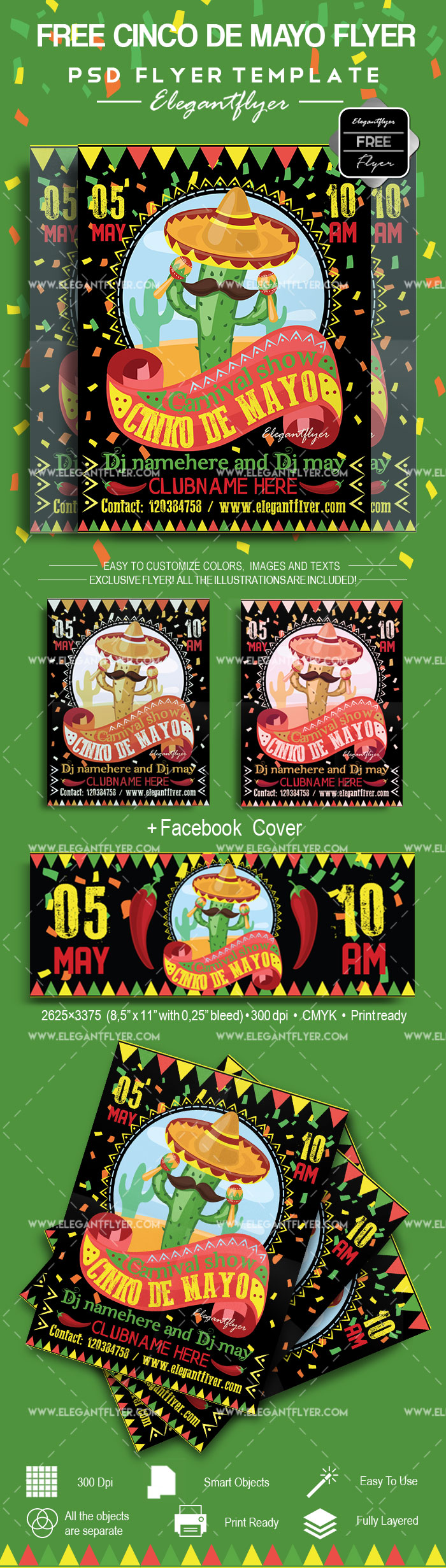 Free Cinco de Mayo Flyer