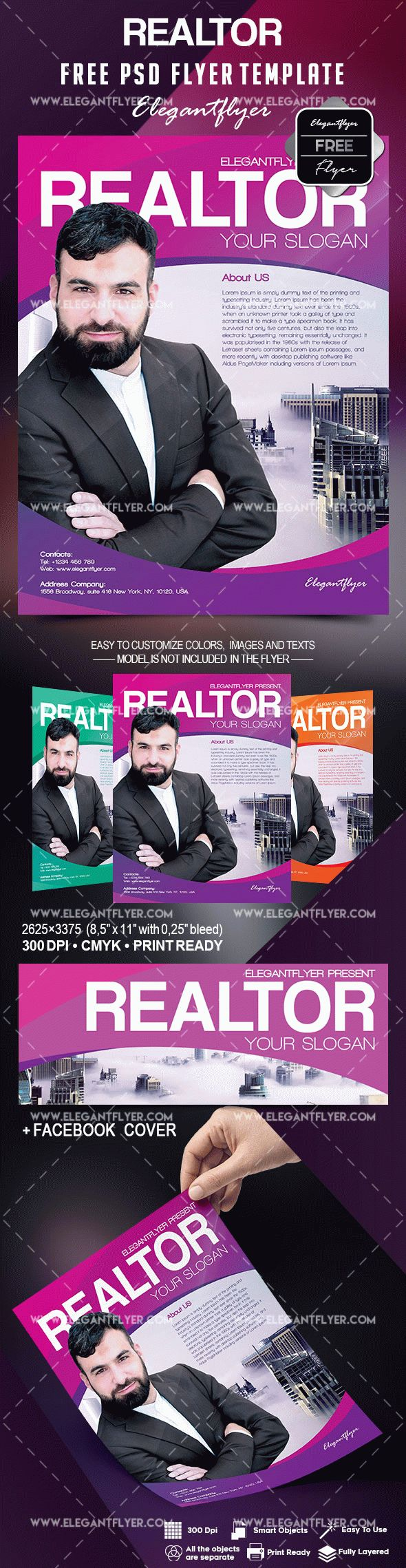 Realtor Flyer Template Free