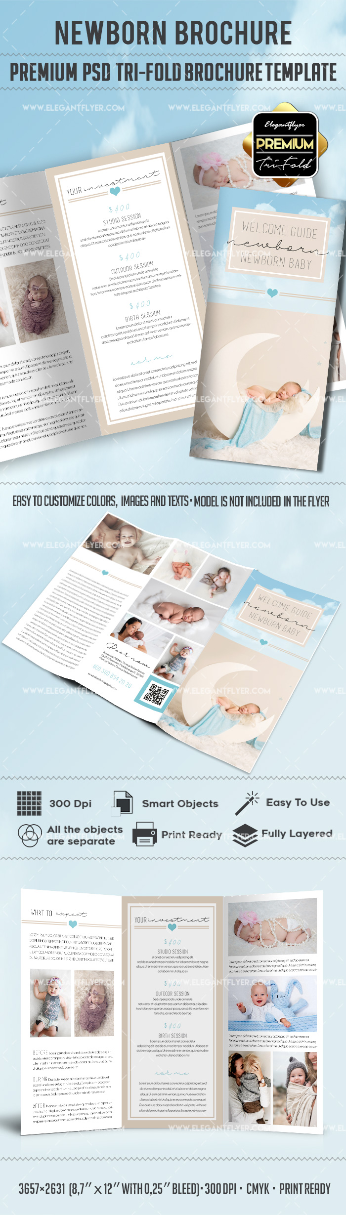 Template for Newborn Photography Poses Guide