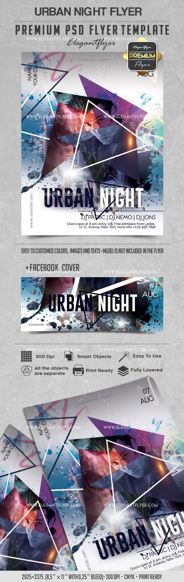 Poster for Urban Night Party