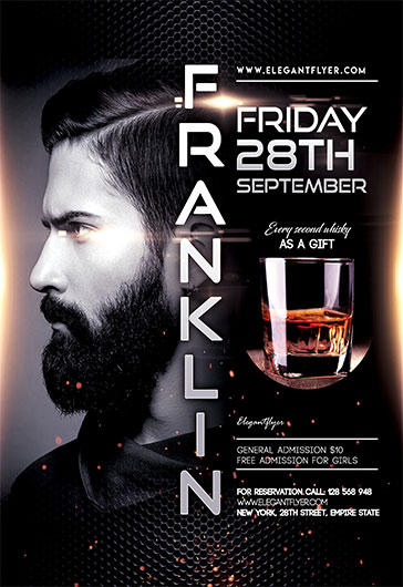 DJ Guest Of The Night – Flyer PSD Template