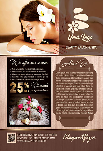 Spa PSD Template