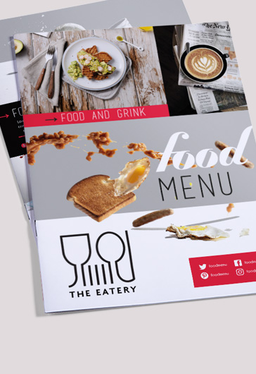 Free Food menu – Restaurant Brochure Template in PSD