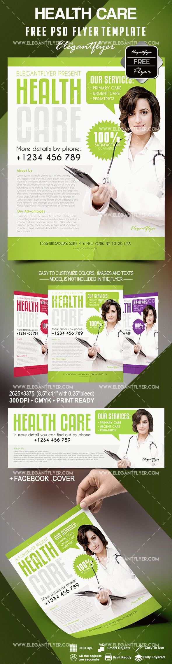 Free Health Care Flyer Template