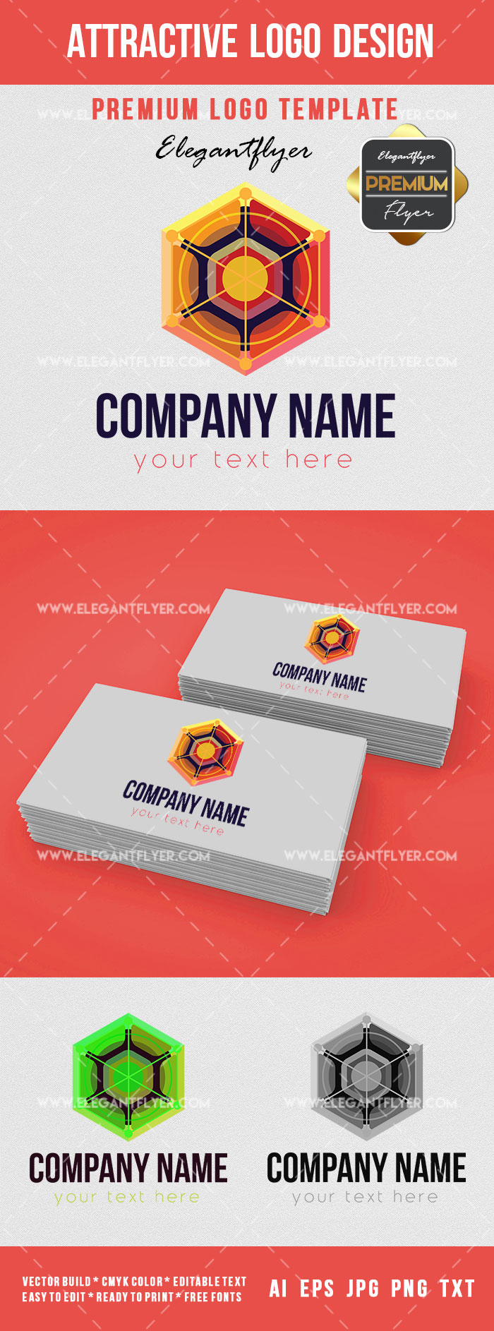 Template for Attractive Logo