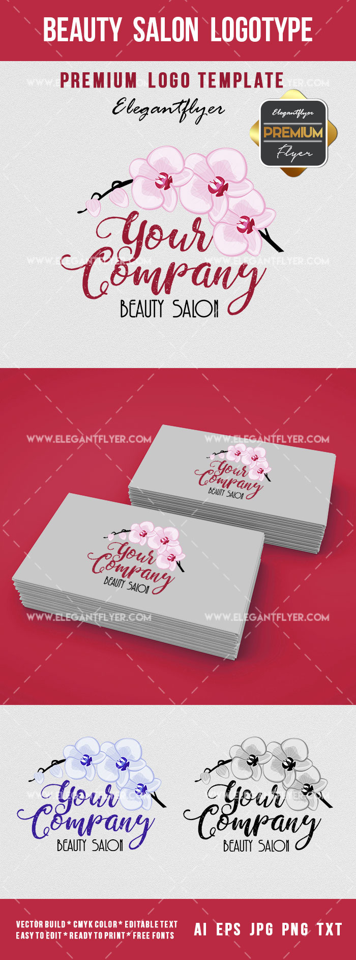 Beauty Salon Logotype – Premium Logo Template
