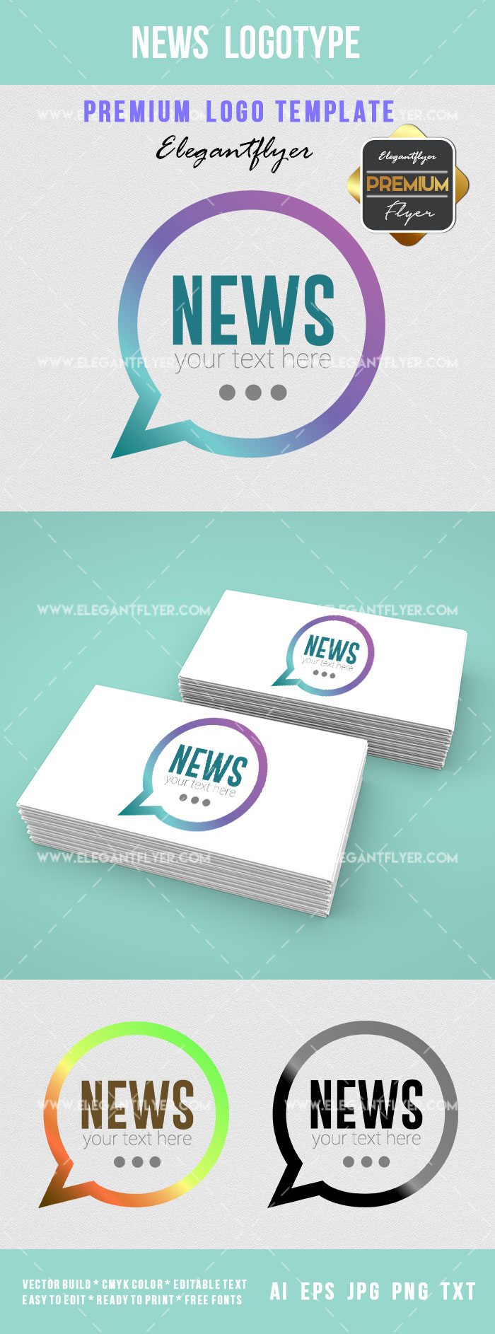 News for Logo Template