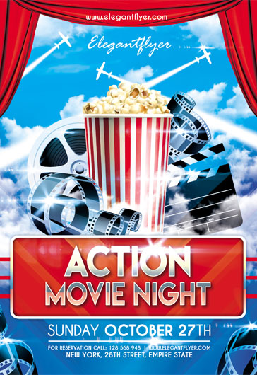 Template for Action Movie Night