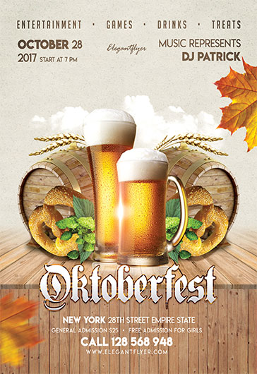 Beer Party – Flyer PSD Template