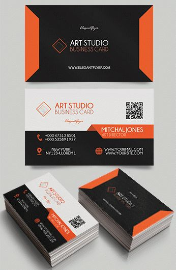 Art Studio – Premium Business Card Templates PSD