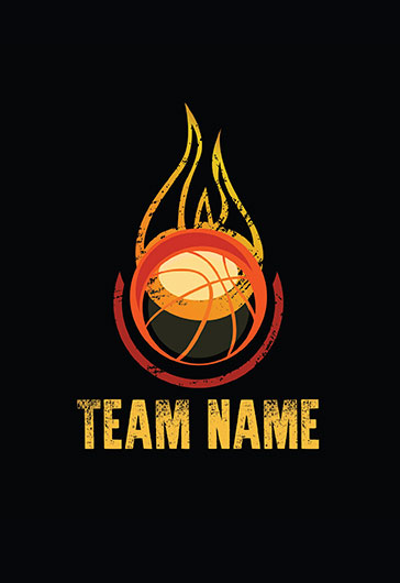 Basketball Logotype – Premium Logo Template