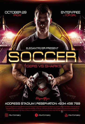 Sports Bar V2 – Flyer PSD Template