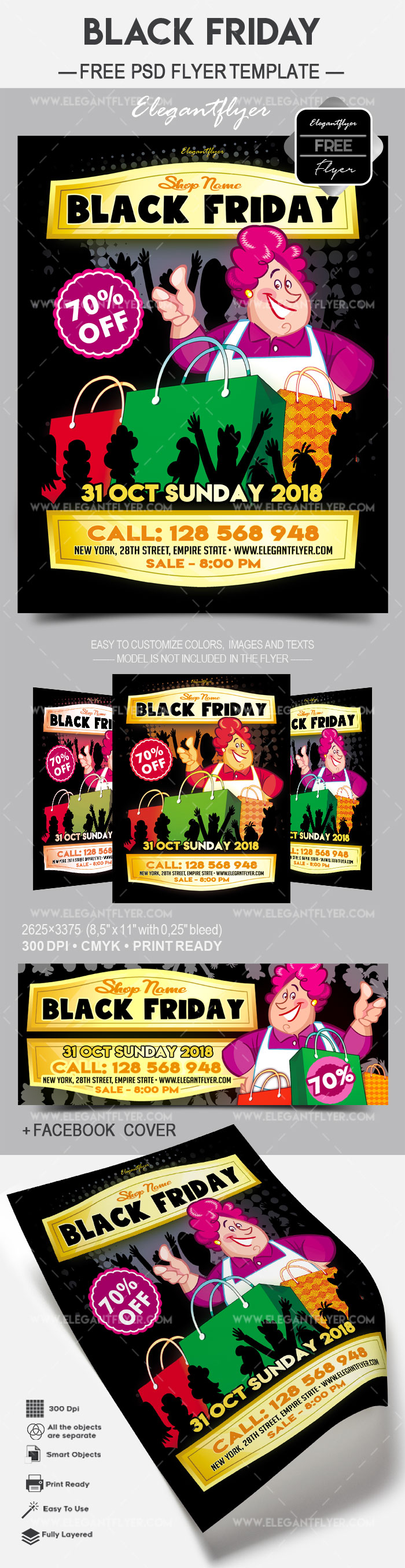Black Friday – Free Flyer PSD Template