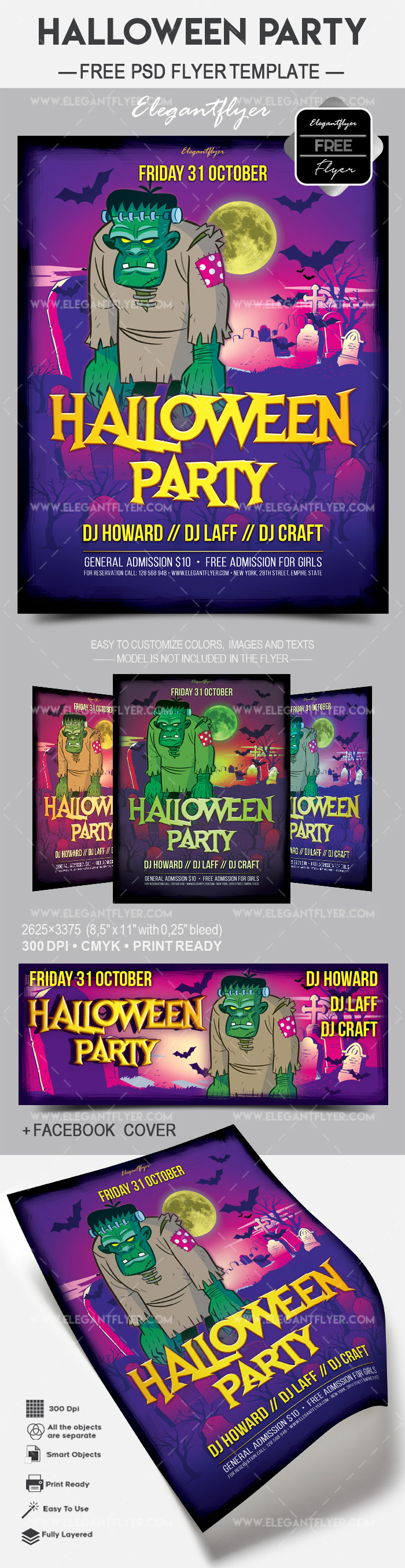 Halloween Free Flyer Templates