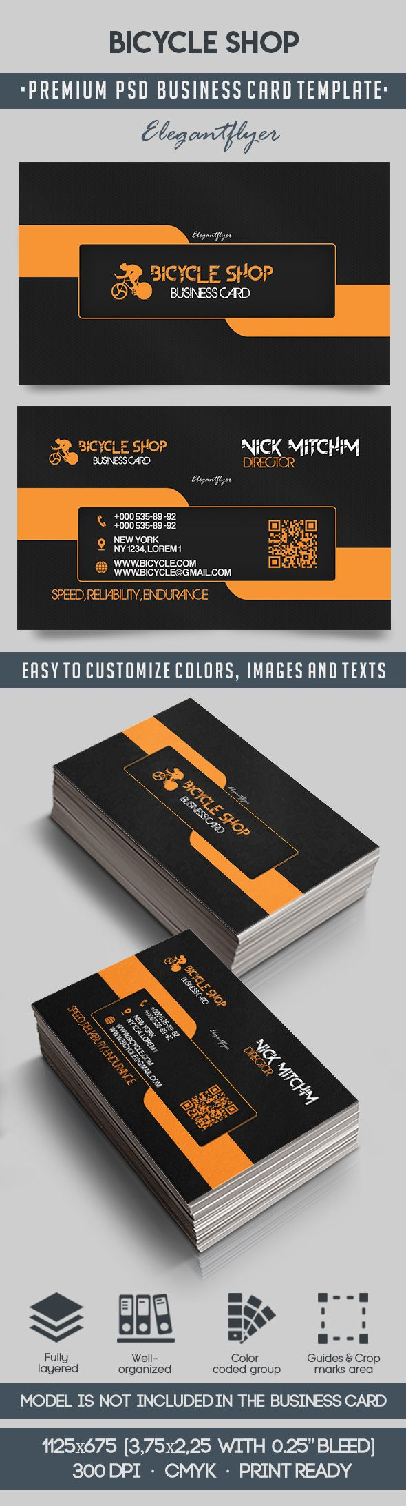 Bicycle Sales Business Card Templates – EdPeer