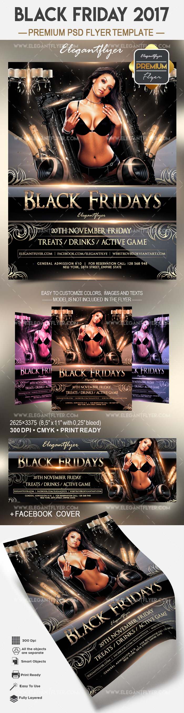 Black friday 2017 – Flyer PSD Template
