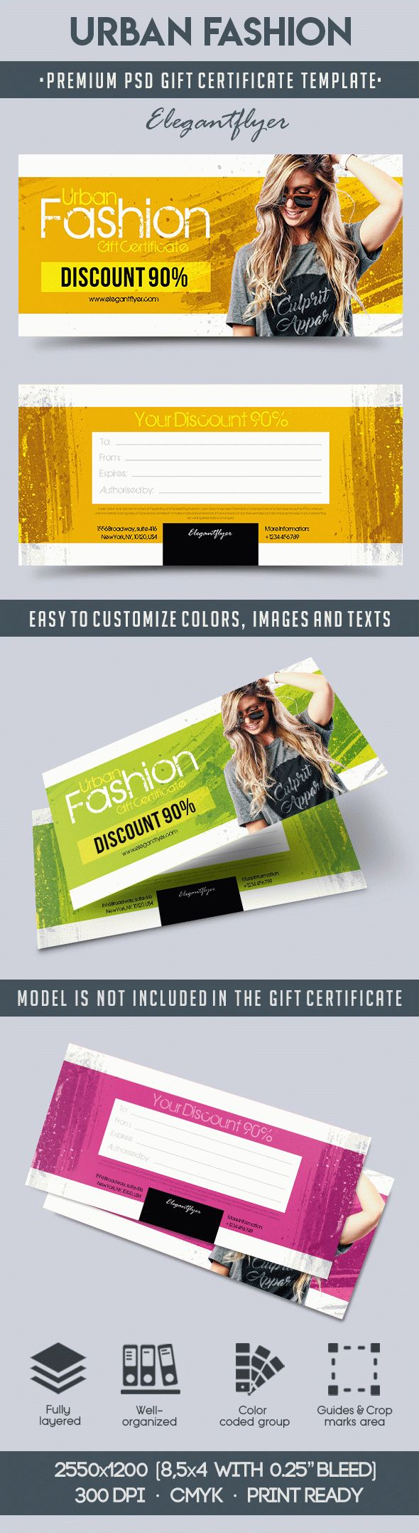 Gift Certificate for Urban Fashion