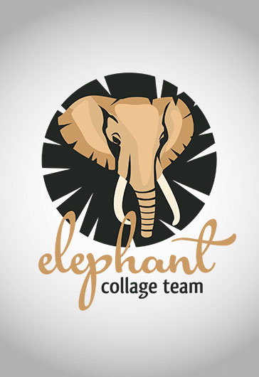 Logo for Elephant Collage Team