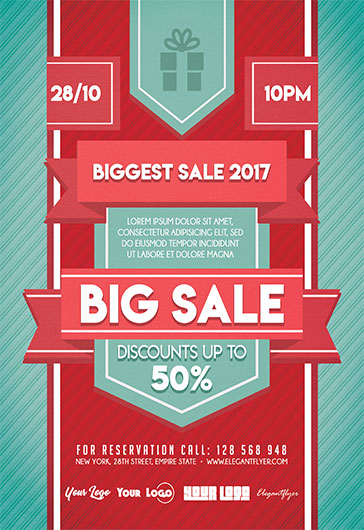 Biggest Sale Flyer Template