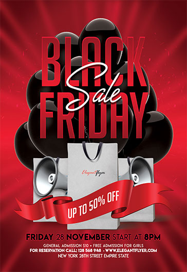 Black Friday Online Sales Poster