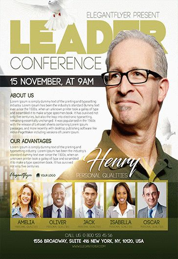 Christian Conference – Flyer PSD Template