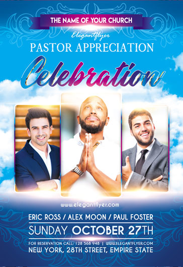 Flyer for Pastors Appreciation Day