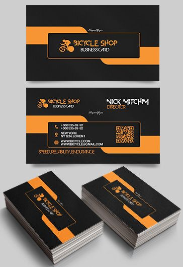Gardener free business card templates psd by elegantflyer bicycle shop premium business card templates psd cheaphphosting Choice Image