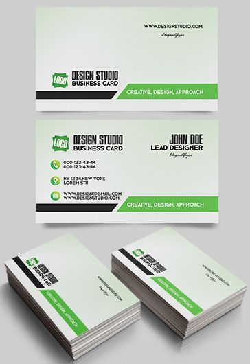 Business Card for Graphic Design Studio