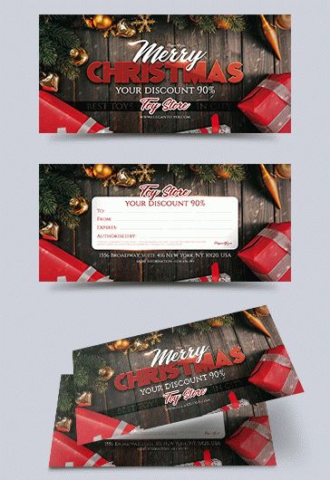 Speaker Christmas Party Template