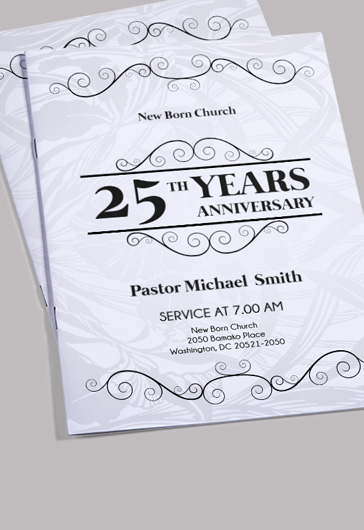 Template for Pastor Appreciation Celebration