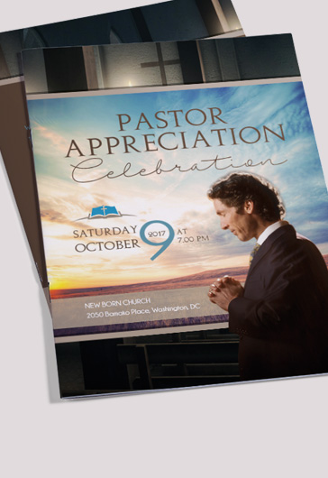 Pastor Appreciation Day Brochure