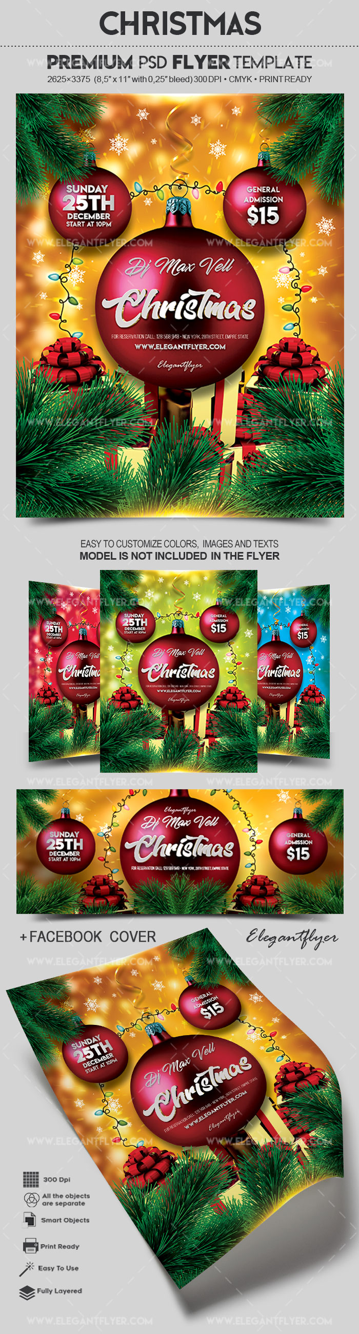 Christmas – Flyer PSD Template
