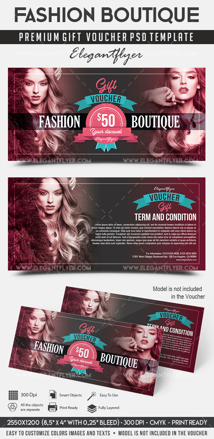 Fashion Boutique Gift Certificate