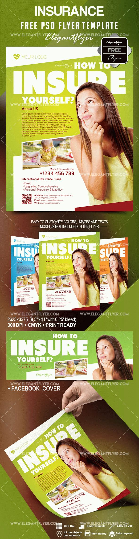 Free Insurance Flyer Template