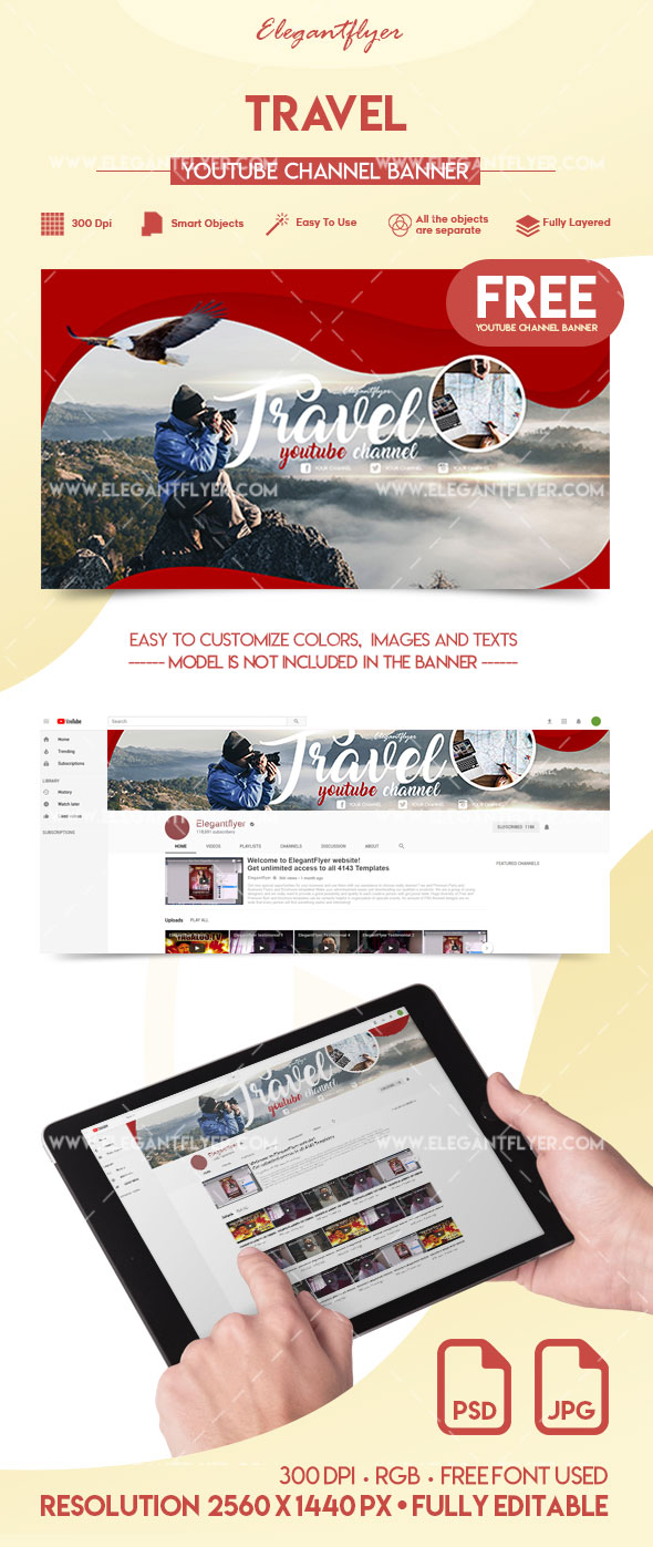 Travel – Free YouTube Channel Banner