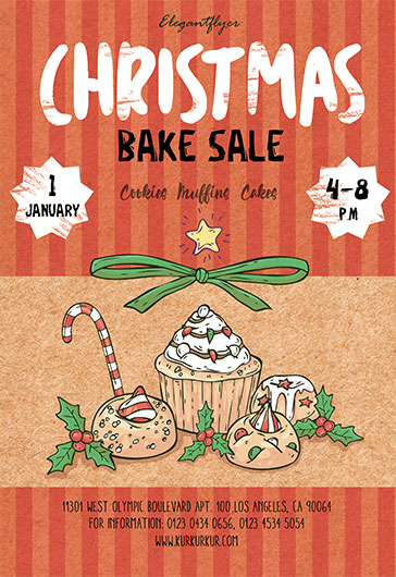 Christmas Bake Sale Flyer