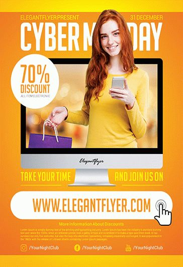 Mega Sale – Flyer PSD Template