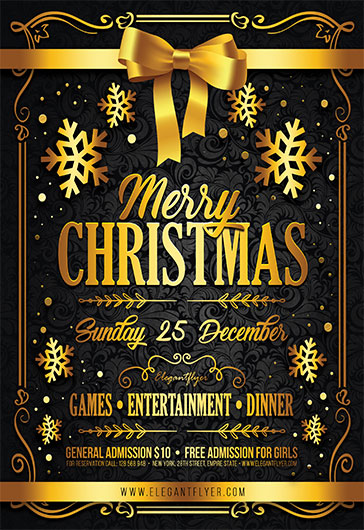 Christmas Set 3 – Free 3d Render Templates