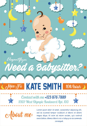 Babysitting Flyer Examples