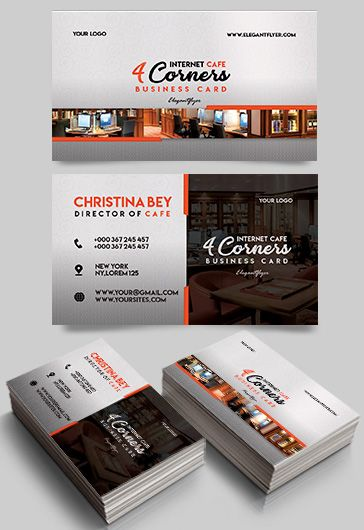 Needlework Shop – Free Business Card Templates PSD