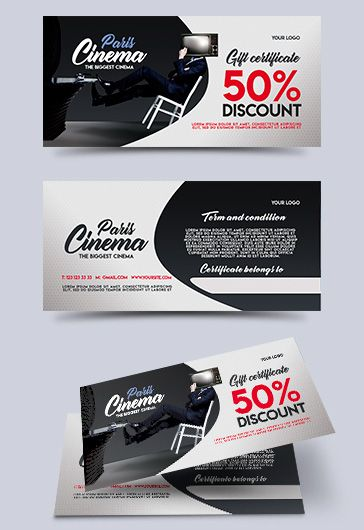 Travel Shop – Premium Gift Certificate PSD Template