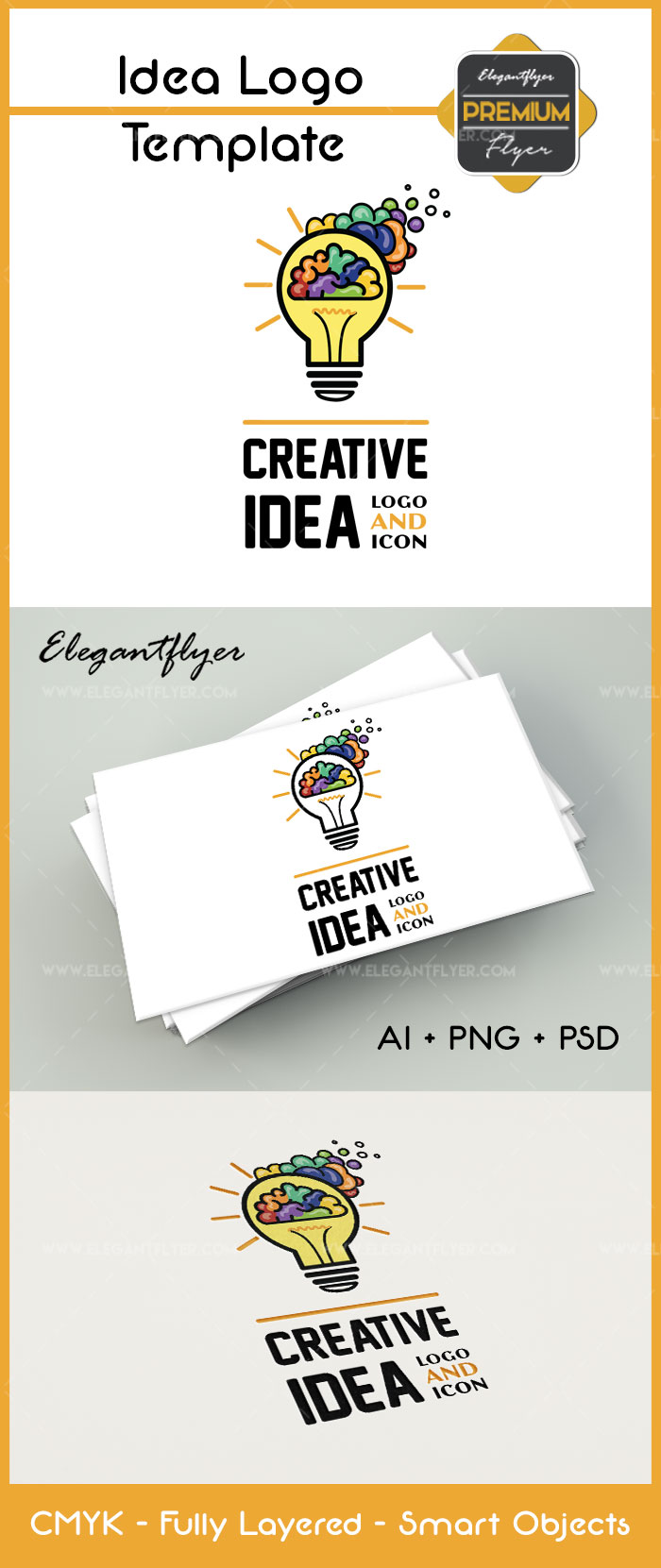 Creative Idea – Premium Logo Template